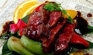 本日の黒毛和牛希少部位 ピリッと 黒胡椒炒め ¥2,480