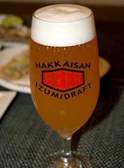 八海山 泉ビール生樽 WEIZEN(バイツェン)生グラス¥780